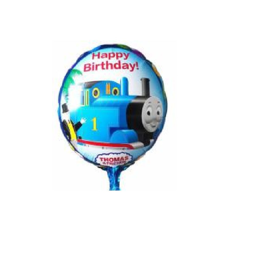 Choo Train Happy Birthday Balloons