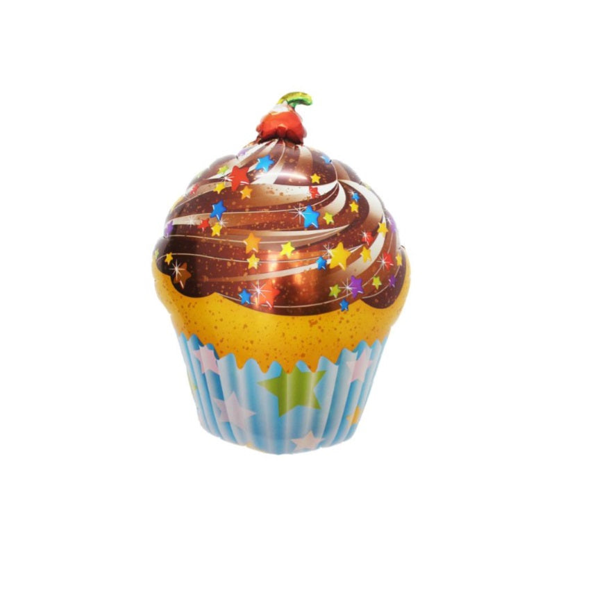 Cup Cake Happy Birthday Balloons