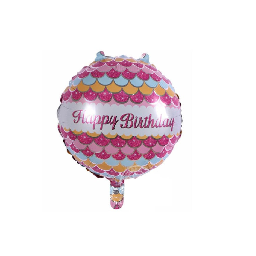 Girls Happy Birthday Balloons