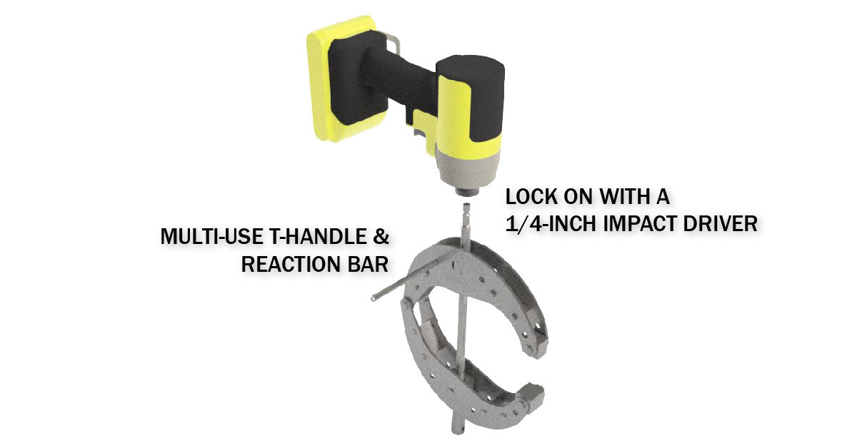 Dimide 1/4 Series Clamp | Single-Handed Use