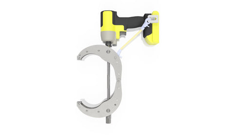 Dimide 1/4 Series Clamp Single Handed