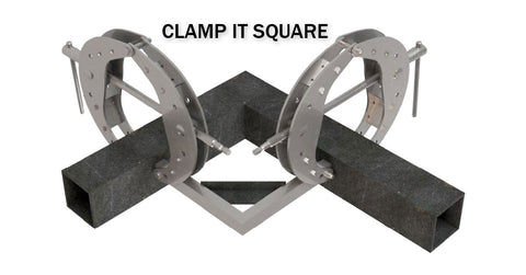 DIMIDE 1/4 Series Clamp Square Jaws