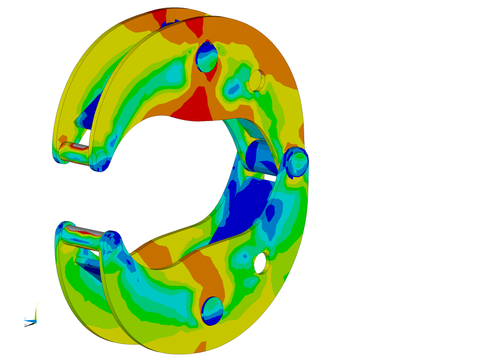 FEA Clamp Analysis