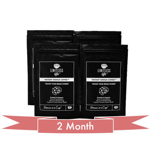 Instant Genius Coffee Instant Genius Matcha Tea Nootropic Infused