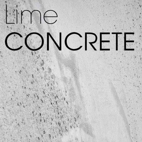 Lime Concrete