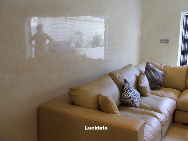 Natural White Lucidato - The Polished Plaster Company
