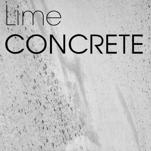 Lime Concrete - The Polished Plaster Company