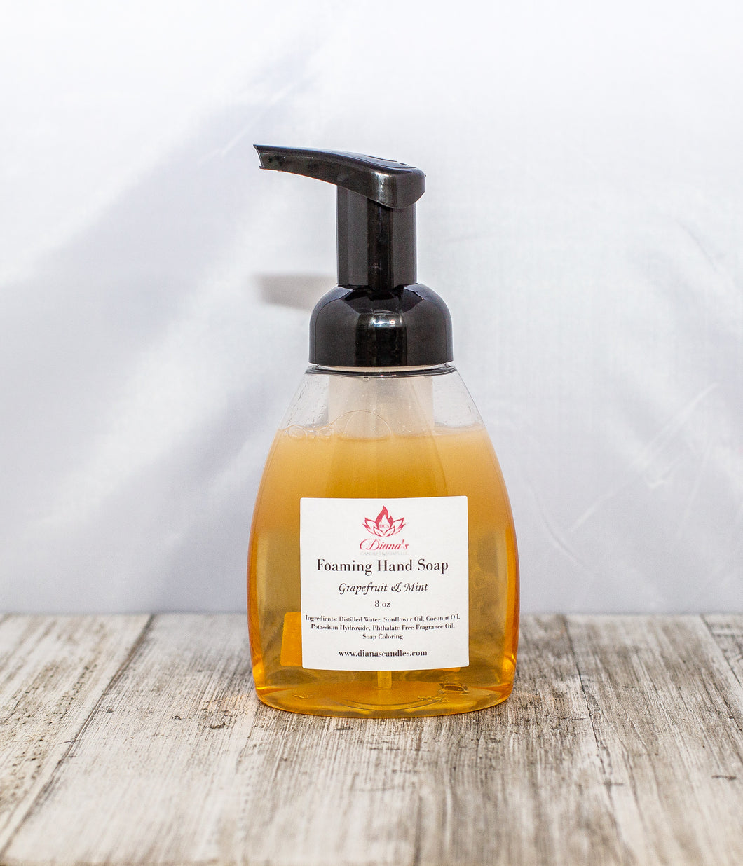 Grapefruit & Mint Hand Soap