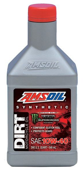 Amsoil Amsoil Synthetic Dirt Bike Oil: 10w-40,50,60 - OffGrid Moto