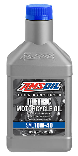 Amsoil Amsoil 10W-40 Synthetic Metric Motorcycle Oil - OffGrid Moto