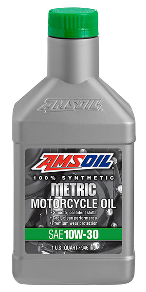 Amsoil Amsoil 10W-30 Synthetic Metric Motorcycle Oil - OffGrid Moto