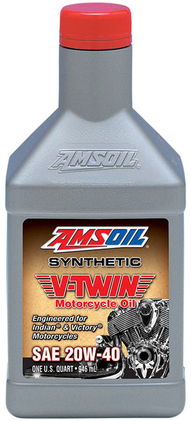 Amsoil Amsoil 20W-40 Synthetic V-Twin Motorcycle Oil - OffGrid Moto