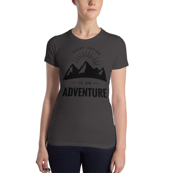 OffGrid Moto OffGrid Moto Mountain Women's Slim Fit Tee - OffGrid Moto