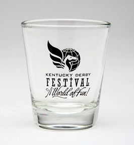2008 KDF Shot Glass