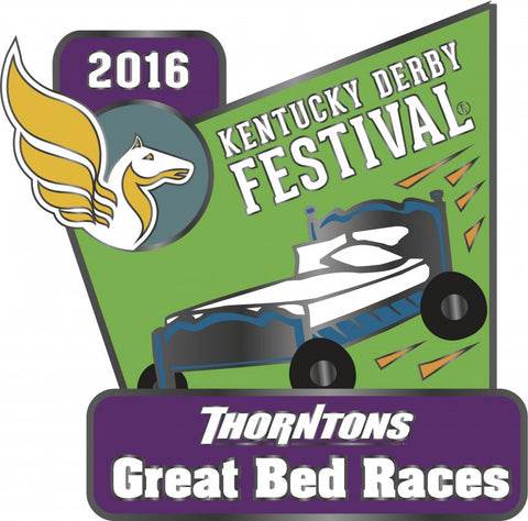 2016 Great Bed Races Pin