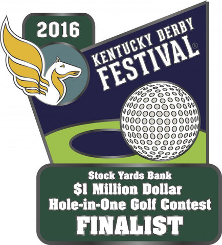 2016 Hole In One Golf Contest Finalist Pin