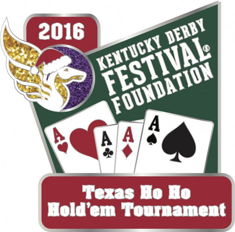 2016 Texas Ho Ho Hold'em Tournament Pin