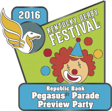 2016 Pegasus Parade Preview Party Pin