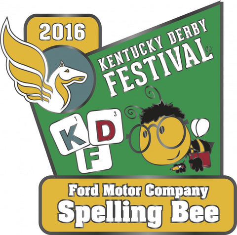 2016 Spelling Bee Pin