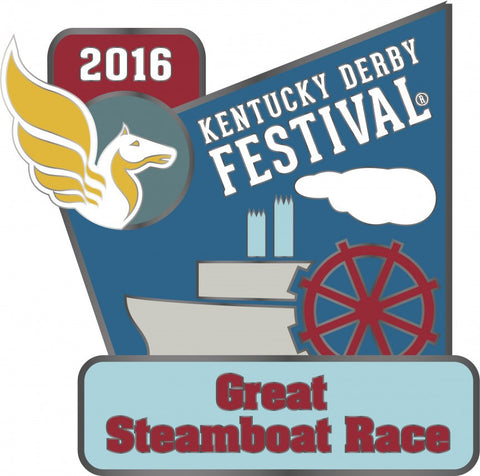 2016 Great Steamboat Race Pin