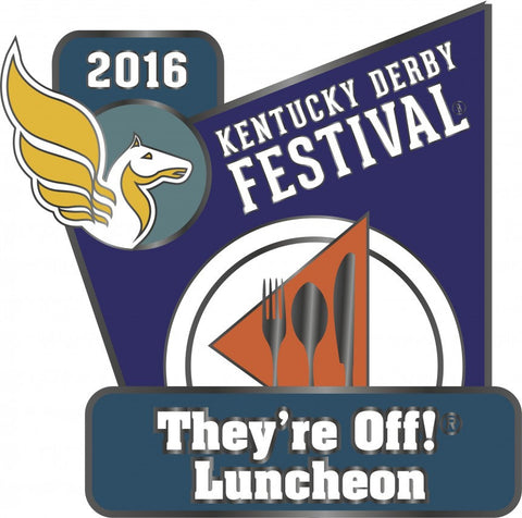 2016 They're Off! Luncheon Pin