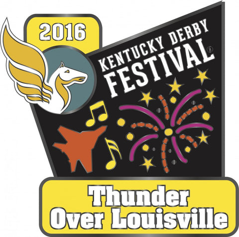 2016 Thunder Over Louisville Pin