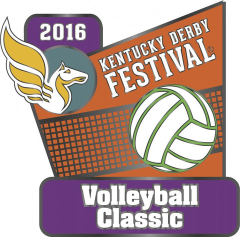 2016 Volleyball Classic Pin