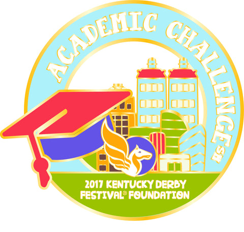 2017 KDF Academic Challenge Event Pin