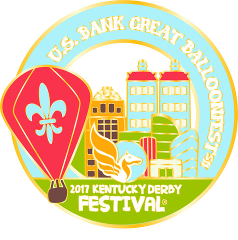 2017 KDF BalloonFest Event Pin