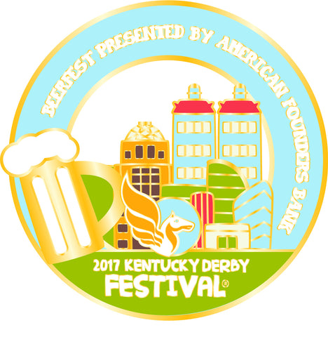 2017 KDF BeerFest Event Pin