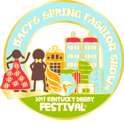 2017 KDF Fashion Show Event Pin