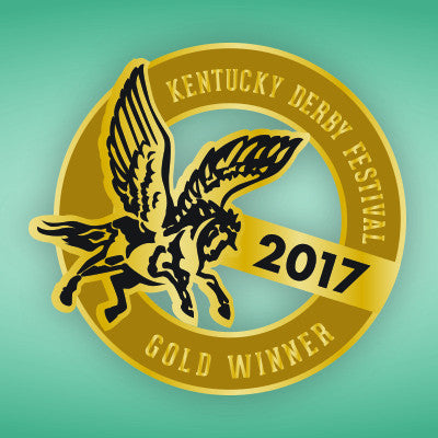 2017 KDF Gold Winner Pin