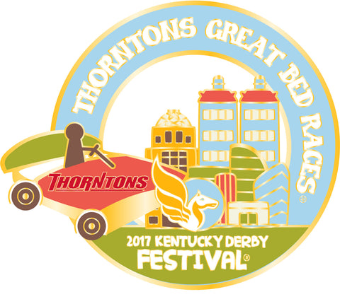 2017 KDF Great Bed Races Event Pin