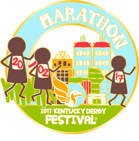 2017 KDF Marathon Event Pin