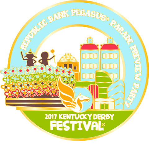 2017 KDF Parade Preview Event Pin