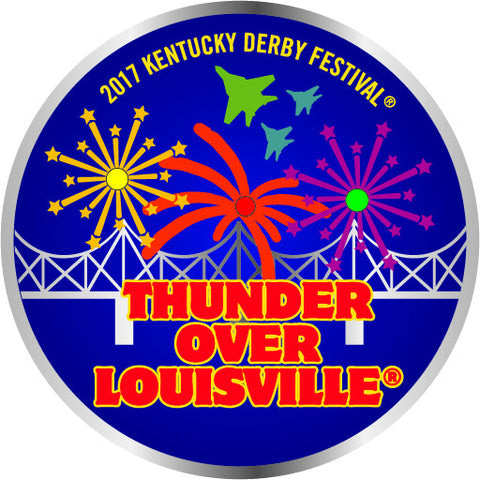 2017 KDF Thunder Over Louisville Event Pin - LIGHTED