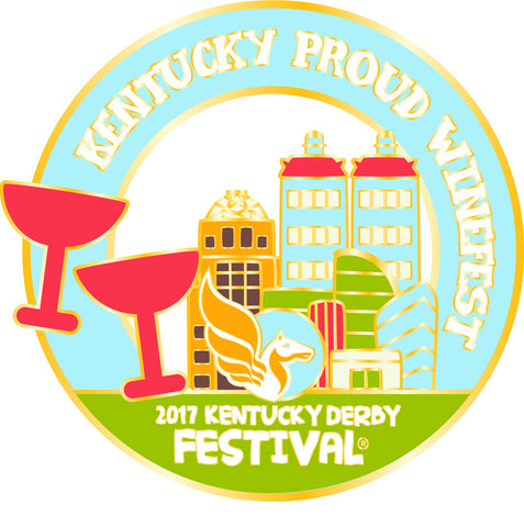 2017 KDF Winefest Event Pin
