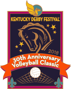 2018 Metal Volleyball Classic Pin