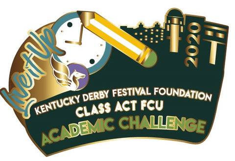 2018 Kentucky Derby Festival Academic Challenge Event Pin