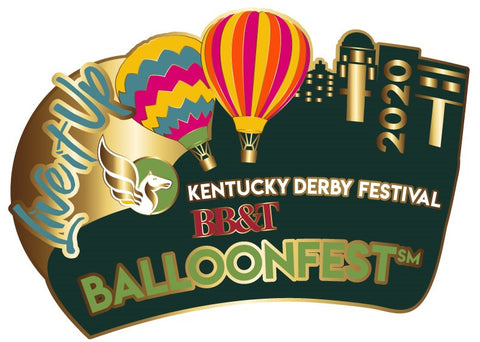 2020 BalloonFest  Metal Pin