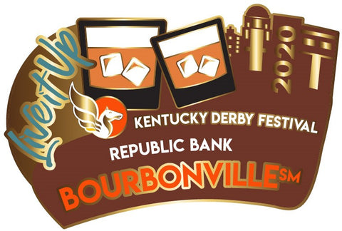 2020 BourbonVille Metal Pin