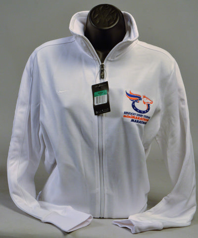 Ladies Embroidered Nike Track Jacket