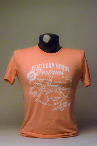 2020 Kentucky Derby Festival Retro Sunset T-Shirt