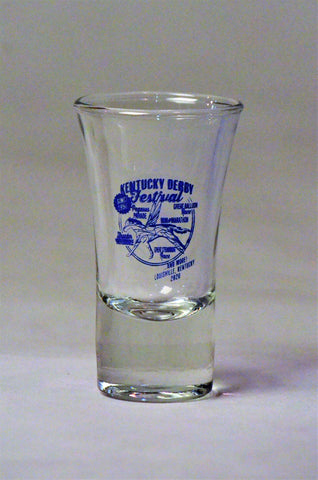 2020 Kentucky Derby Festival Shot Glass