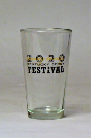 2020 Kentucky Derby Festival Pint Glass