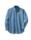 Semonin Realtors - Men's Long Sleeve Denim Shirt