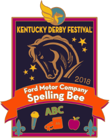 2018 Ford Motor Company Spelling Bee Pin