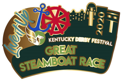 2020 Great Steamboat Race Metal Pin