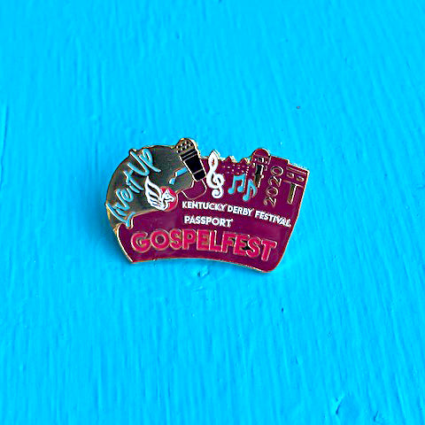 2020 Metal Gospelfest Pin