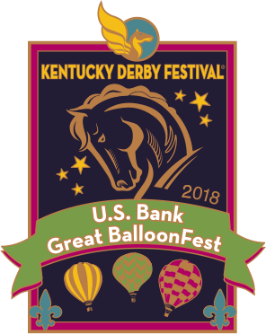 2018 Metal Great BalloonFest Pin